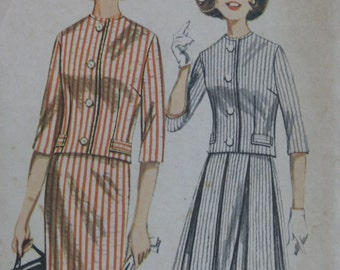 Butterick 2258, 1960s jacket and skirts