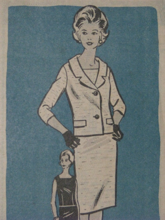 Workbasket 4658, 1960s suit