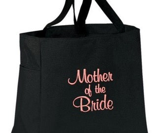 Mother of the Bride / Groom Tote Bag Bridal Party Gift
