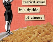 Mac 'n Cheese Rip Tide - Magnet - Macaroni - Food - Humor - Gift - Stocking Stuffer