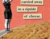 Mac 'n Cheese Rip Tide - Magnet - Macaroni - Food - Humor - Gift - Stocking Stuffer