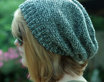 Womens Crochet Patterns Popular Slouchy Beanie like the Movie Stars Pattern Adult Instant Download