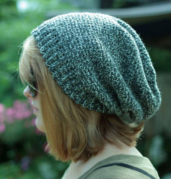 Crochet Pattern for Making a Crochet Slouchy Beanie like the Movie Stars- Instant Download