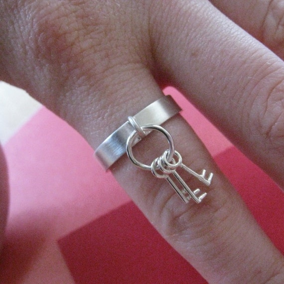 Key Ring Ring Sterling Silver