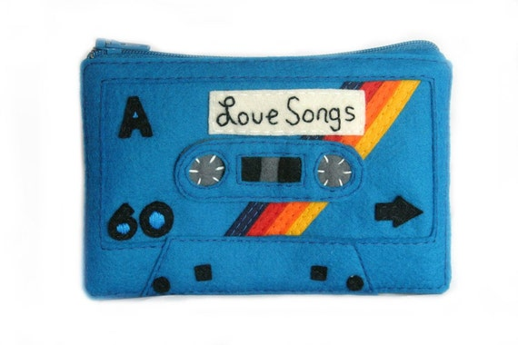 Deluxe Mix Tape Pouch - Love Songs