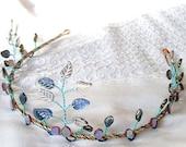 Ice Princess Tiara Elven Circlet Crown