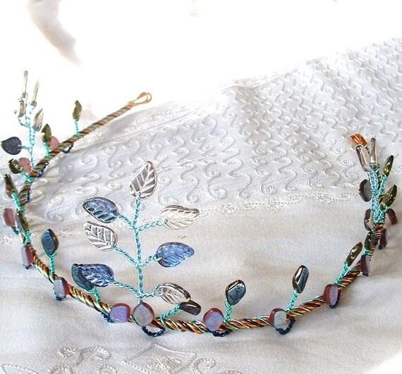 Items similar to Ice Princess Tiara Elven Circlet Crown on ...