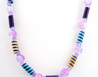 Purple Necklace, Teen Necklace, Kids Necklace, Teen Jewelry, Jewelry for Teens, Childrens Necklace, Childrens Jewelry, Kids Jewelry