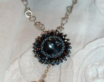 BlueBird  Bird Nest Necklace