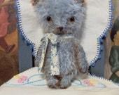 Mini Mohair Bear Primitive Style Teddy Jacob E Pattern