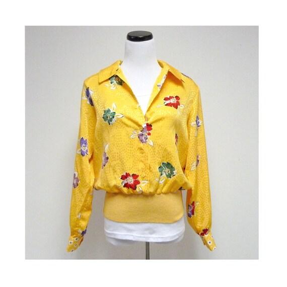 SPRING has SPRUNG long sleeve shirt . Medium . made in USA