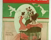 Vintage Sheet Music The Old Maid's Ball Irving Berlin 1913