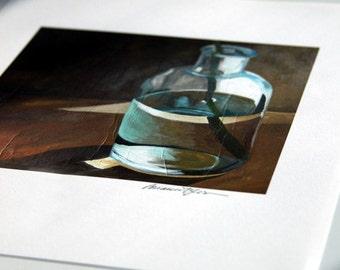 print - shadow stem - print of original painting