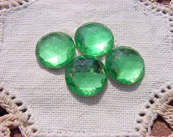 Sour Apple Green Vintage Lucite Jewels