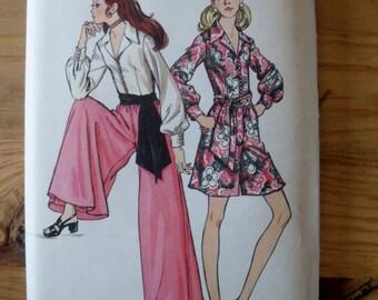 Vintage Pattern 1960's Jumpsuit Butterick 5914 Pattern