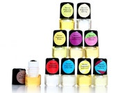 Perfume Set  mini roll on Instant Collection Perfumes Get  Divine-  Sample or Travel with Eco Case Only by Theme Fragrance.