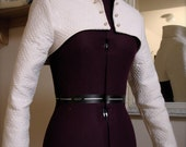 Stand-up collar jacket -ANY SIZE