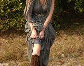 Custom order for Garret Elf BOOTS/Handmade Moccasins Knee hIgh pointy toe dark brown