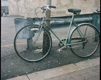 Bus Station Bike Fine Art Photography Bicycle Philadelphia Street Chinatown