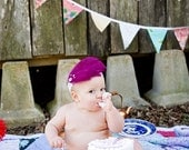 Last Chance, Oilcloth Pennant Flags.  Perfect For Outdoor Parties, Weddings, Photo-Shoots, or General Decoration.