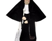 Nun doll Sister Holyn One, the golfing sister, sister doll, Catholic gift