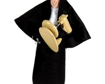 Funny Nun doll, woman baker, baking enthusiast, fun Catholic gift, woman with baking mixer,  Sister Brigitte Bardough
