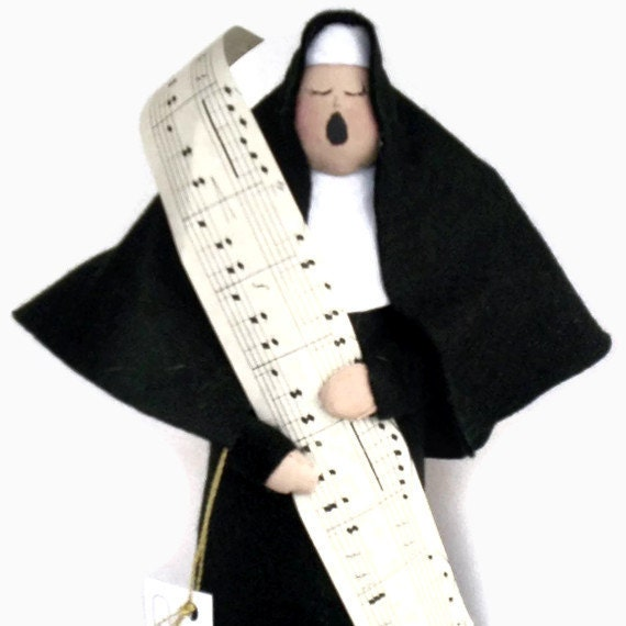 Nun doll -Sister Gloria in Excelsis Deo