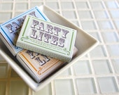 ON SALE funny gag gift fart matchboxes -- Farty Lites will hide the evidence
