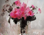 Floral painting, made to order, Roses or other Still Life Composition