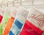 Scriptina Alphabet Letters - Embroidery Machine Designs