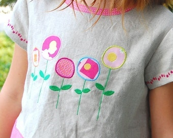 Modern Poppies - Machine Embroidery Designs