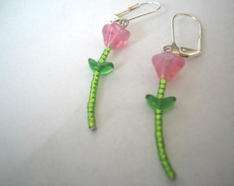 ROSES ARE PINK - Earrings