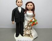 DEPOSIT for a Customized Wedding Cake Topper figurine Wedding Decoration