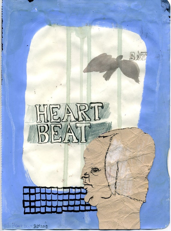 Heart Beat (original drawing, 2010)