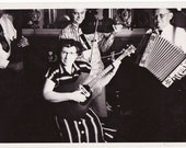 Our Band Was Our Life - 3 Vintage Photos of a band that looks like they sounded awesome - accordion, bass, fiddle,