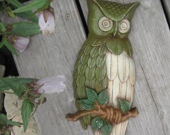 Owl avocado green 1969 Sexton