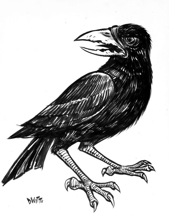 Evil crow - photo#24