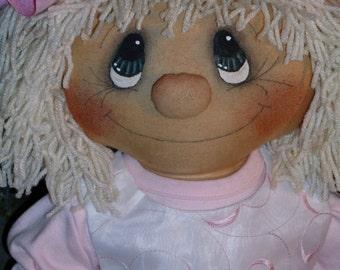 Kats Raggedy Kids Raggedy Ann style doll INSTANT DOWNLOAD EPATTERN #111 Hafair Faap