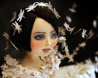 Art Doll Print - The Wind's Bride - by Christine Alvarado