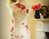 Bedroom Decor English Rose Linen Display Mannequin - Kate Forman