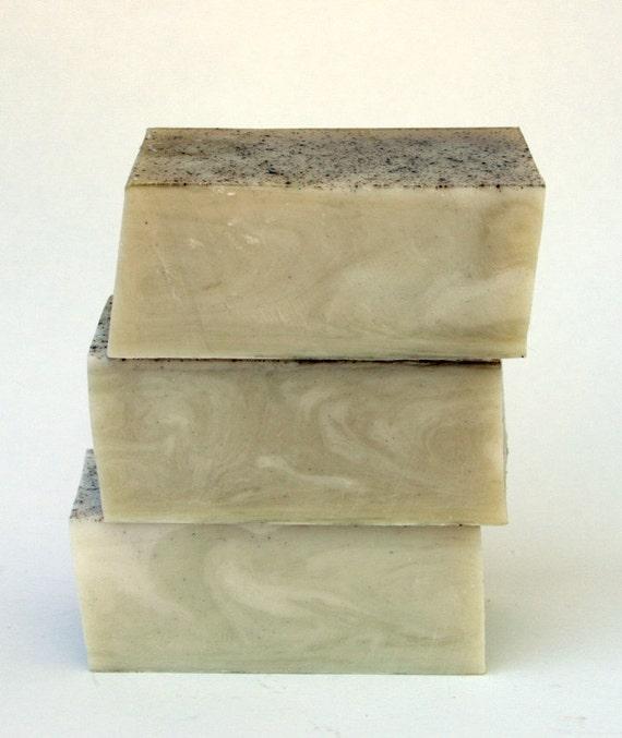 Cedar & Saffron Bar Soap with goat's milk, allspice and honey