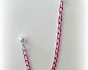 Candy Pink Cartilage Chain Earring