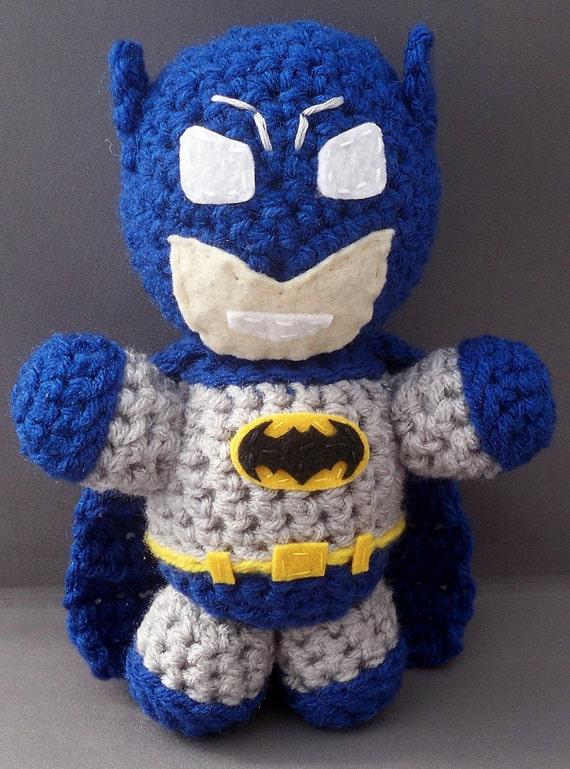 Batman Amigurumi Plush Doll