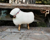Primitive   E-Pattern  Sheep Doll Decoration