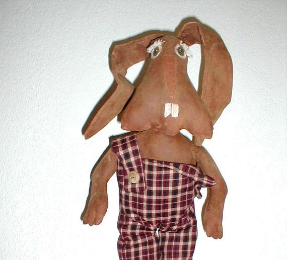 E Pattern Easter Rabbit Doll Decoration  PDF  Instant Download