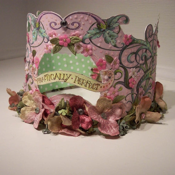 Practically Perfect Paper Party Crown