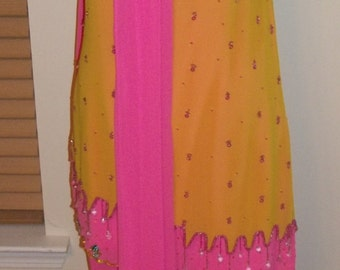 REDUCED:  BOLLYWOOD Colorful India Women's Pant Ensemble