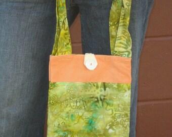 Citrus Batik Bag