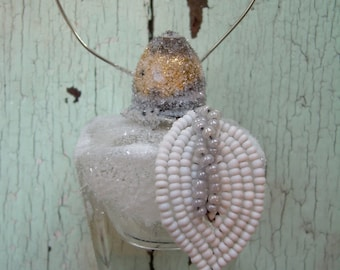Christmas Ornament - Repurposed Vintage