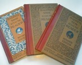 McGuffey's Eclectic Reader Books - Vintage 1920 - Third- Fifth - Sixth Grades